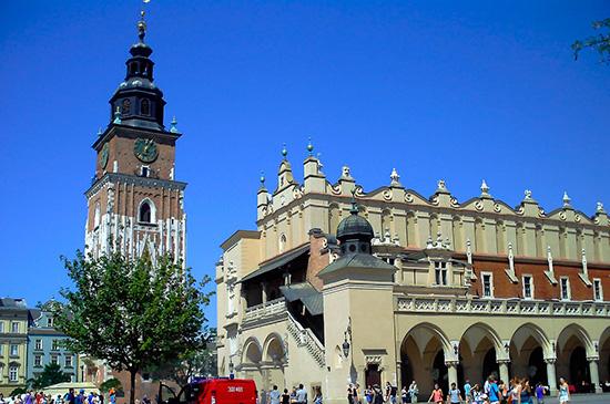 Torre del Ayuntamiento de Cracovia