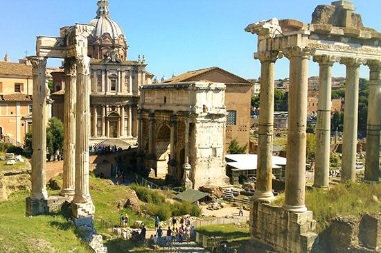 Tour por el Coliseo, el Foro Romano y el Palatino