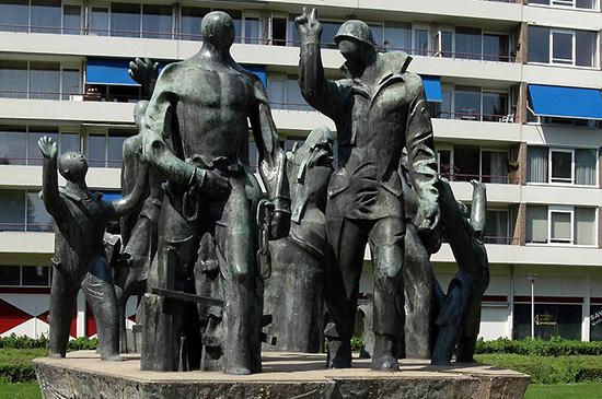 El Monumento Nacional de la Liberación (Bevrijdingsmonument)