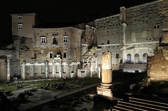 Free Tour nocturno La Roma Imperial